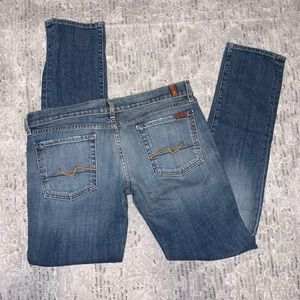 7 for All Mankind Skinny/Straight Sz31